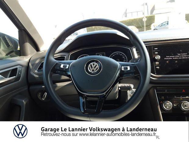 Photo miniature de la Volkswagen T-Roc 1.0 TSI 115ch Lounge 113g Euro6d-T 2019 d'occasion
