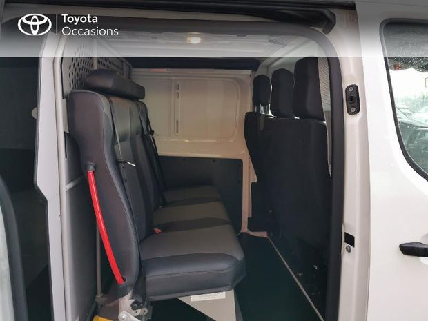 Photo miniature de la Toyota PROACE Long 2.0 D-4D 120 Cabine Approfondie Dynamic MY20 2020 d'occasion