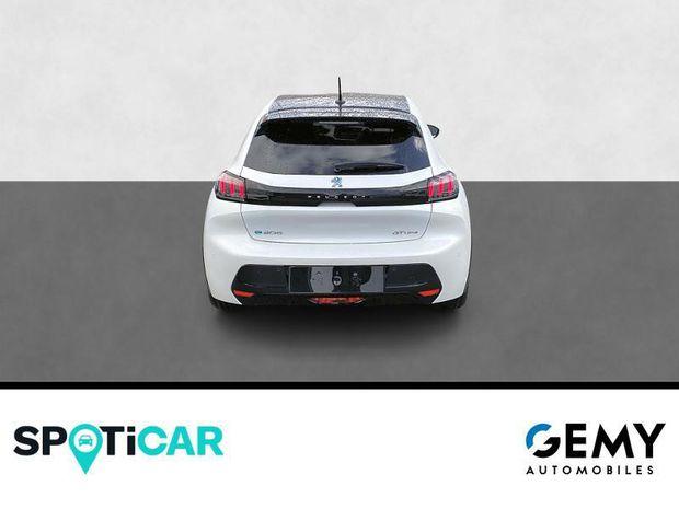 Photo miniature de la Peugeot 208 e-208 136ch GT Line 2021 d'occasion