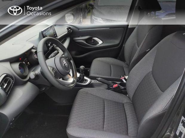 Photo miniature de la Toyota Yaris 120 VVT-i Design 5p 2020 d'occasion