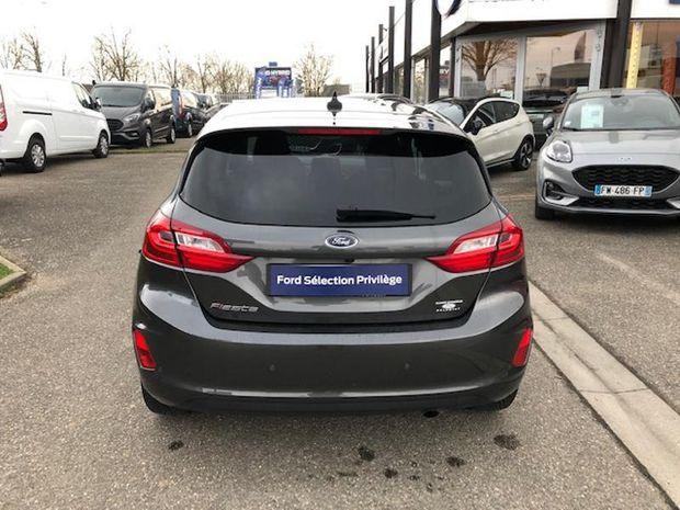 Photo miniature de la Ford Fiesta 1.0 EcoBoost 100ch Stop&Start Titanium 5p 2018 d'occasion