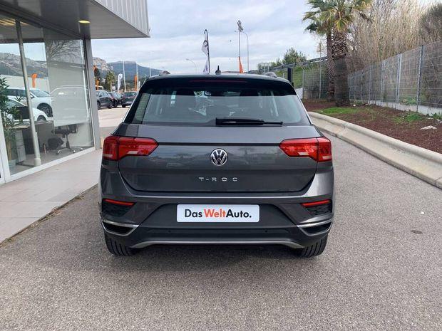 Photo miniature de la Volkswagen T-Roc 1.6 TDI 115 Start/Stop BVM6 Lounge 2018 d'occasion