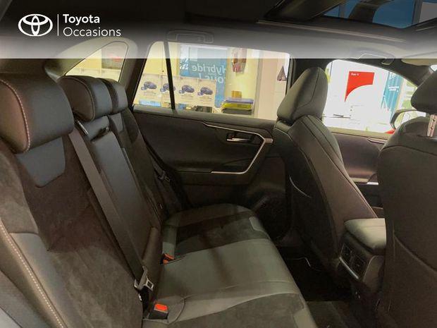 Photo miniature de la Toyota RAV4 Hybride 218ch Black Edition 2WD MY21 2021 d'occasion