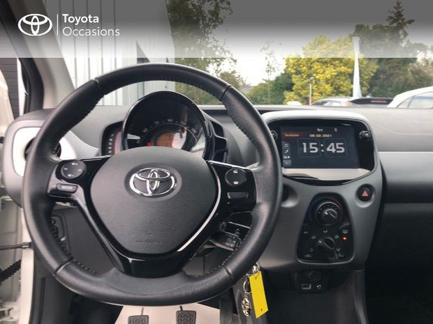 Photo miniature de la Toyota Aygo 1.0 VVT-i 72ch x-play 5p 2018 d'occasion