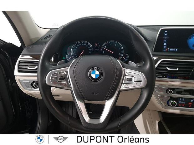 Photo miniature de la BMW Serie 7 740dA xDrive 320ch Exclusive 2017 d'occasion
