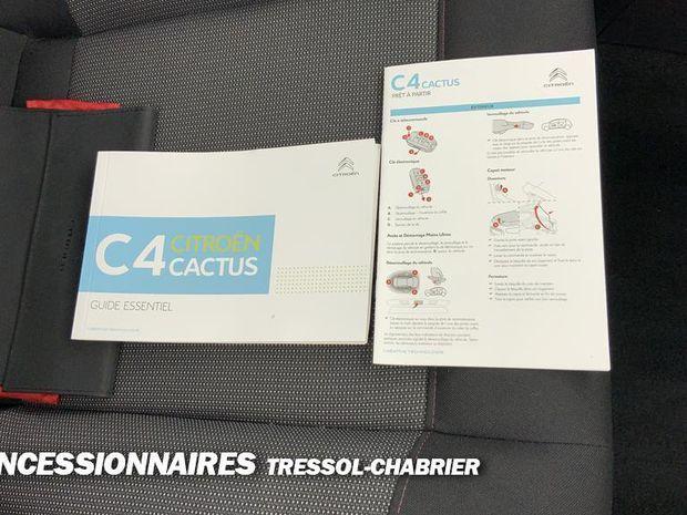 Photo miniature de la Citroën C4 Cactus PureTech 110 S&S EAT6 Feel Business 2019 d'occasion