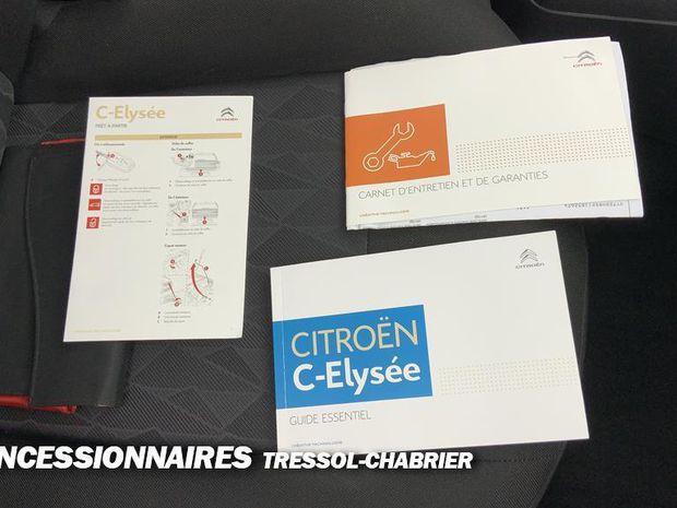 Photo miniature de la Citroën C-Elysée PureTech 82 BVM5 Live 2019 d'occasion