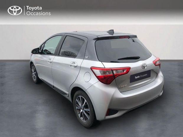 Photo miniature de la Toyota Yaris 110 VVT-i Design Y20 CVT 5p MY19 2019 d'occasion