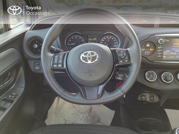 Photo miniature de la Toyota Yaris 69 VVT-i Design 5p 2017 d'occasion