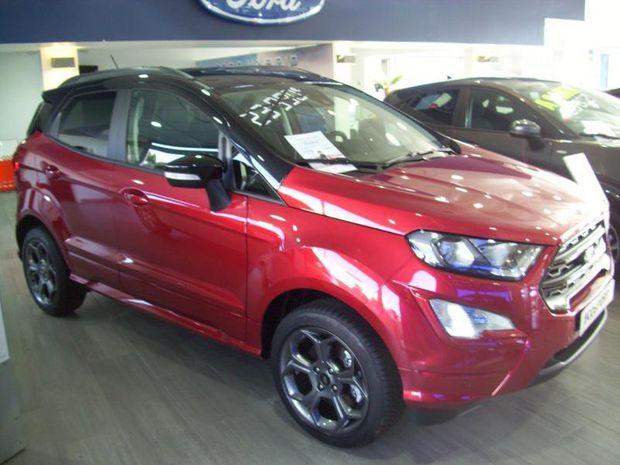 Photo miniature de la Ford EcoSport 1.5 EcoBlue 125ch ST-Line 4x2 2020 d'occasion