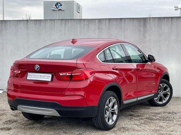 Photo miniature de la BMW X4 xDrive20dA 190ch xLine 2018 d'occasion