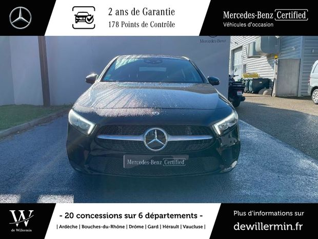 Photo miniature de la Mercedes Classe A 180 d 116ch Progressive Line 7G-DCT 2019 d'occasion