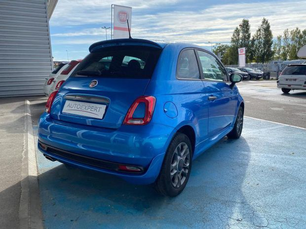 Photo miniature de la Fiat 500 1.2 8v 69ch S 2018 d'occasion