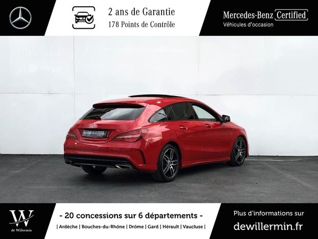 Photo miniature de la Mercedes CLA Shooting Brake 180 d Fascination 7G-DCT 2017 d'occasion