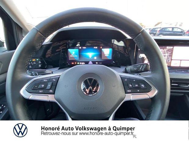Photo miniature de la Volkswagen Golf SW 2.0 TDI SCR 150ch Style DSG7 2021 d'occasion