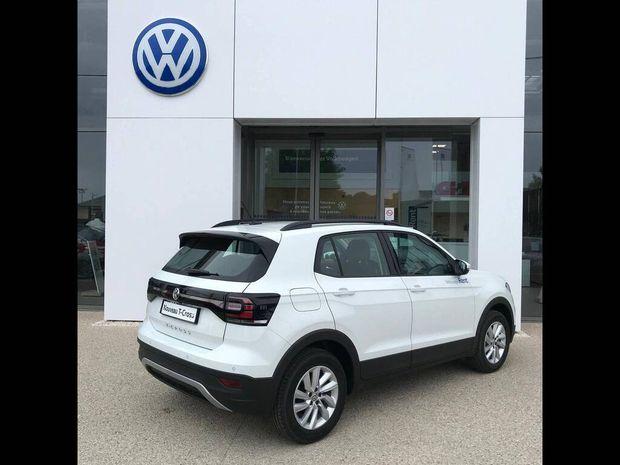 Photo miniature de la Volkswagen T-cross 1.0 TSI 95 Start/Stop BVM5 Lounge Business 2020 d'occasion