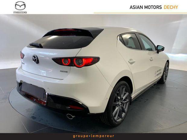 Photo miniature de la Mazda Mazda3 Mazda 3 2.0 e-Skyactiv-G M-Hybrid 122ch Sportline BVA 2021 d'occasion