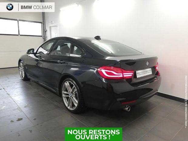 Photo miniature de la BMW Serie 4 Gran Coupe 418dA 150ch M Sport 122g 1ere main TOuvrant 2019 d'occasion