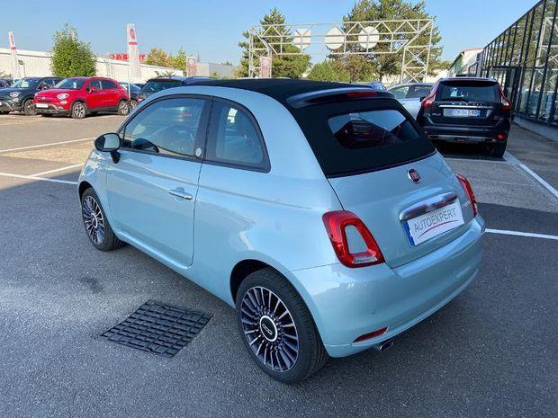 Photo miniature de la Fiat 500 C 1.0 70ch BSG S&S Launch Edition 2020 d'occasion