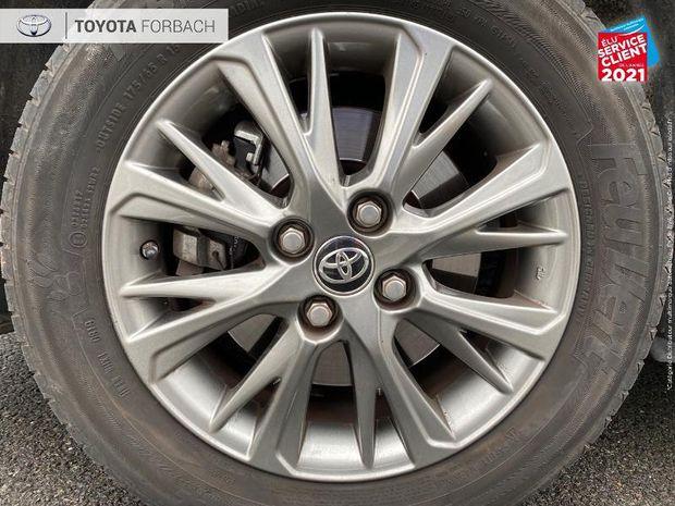 Photo miniature de la Toyota Yaris 100h Dynamic 5p 1ere main Camera clim bi-Z regulateur bluetooth 2017 d'occasion