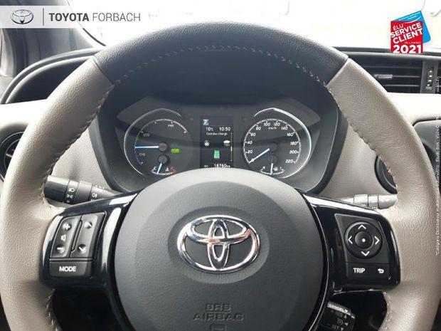 Photo miniature de la Toyota Yaris 100h Collection 5p 1ere main Camera clim bi-Z regulateur bluetooth 2019 d'occasion