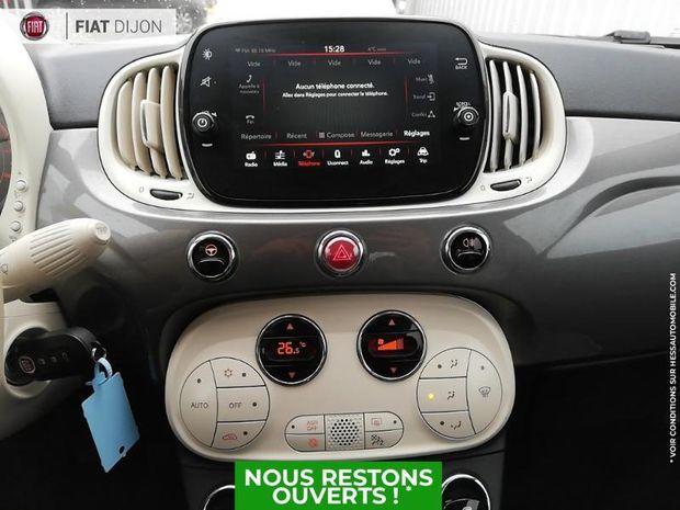 Photo miniature de la Fiat 500 C 1.2 8v 69ch Eco Pack Lounge Euro6d Bluetooth 2019 d'occasion