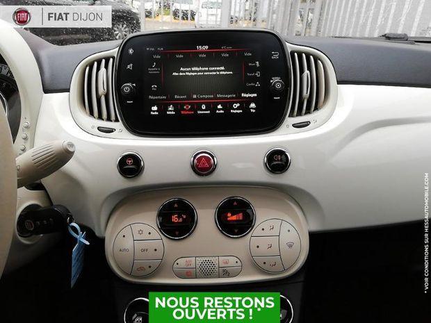 Photo miniature de la Fiat 500 C 1.2 8v 69ch Eco Pack Lounge Euro6d 2019 d'occasion