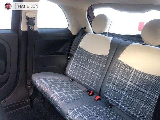 Photo miniature de la Fiat 500 1.2 8v 69ch Lounge TPano Radar AR 2019 d'occasion