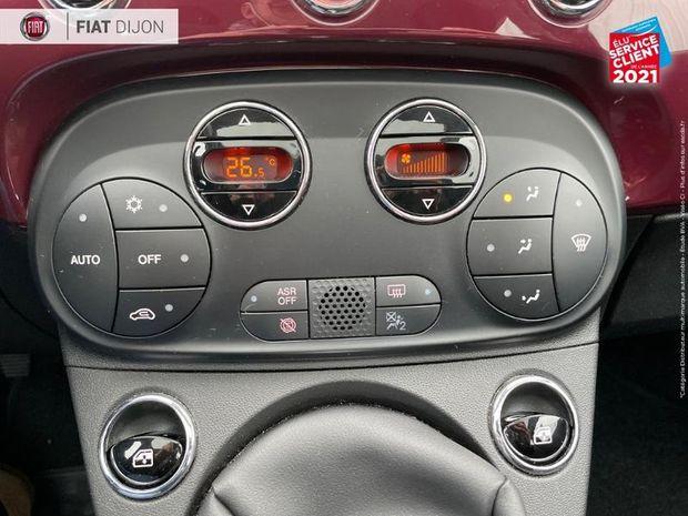 Photo miniature de la Fiat 500 1.2 8v 69ch S&S Collezione Euro6d TPano 2019 d'occasion