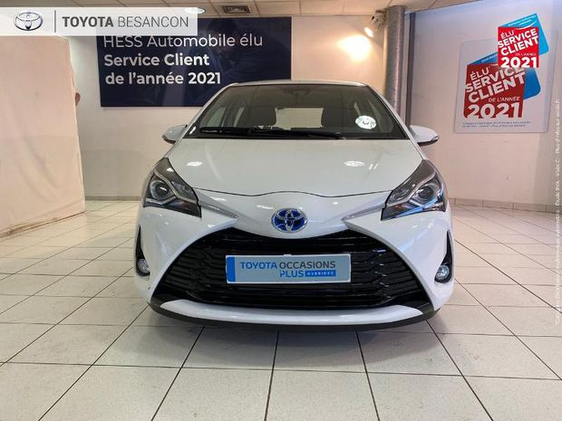 Photo miniature de la Toyota Yaris 100h Dynamic 5p 1ere main Camera clim bi-Z regulateur bluetooth 2018 d'occasion