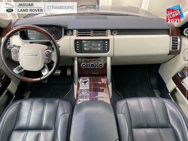 Photo miniature de la Land Rover Range Rover 3.0 SDV6 Hybride 354ch Autobiography LWB Mark VI JA22 Console AV/AR réfrigérée Volant cu 2016 d'occasion