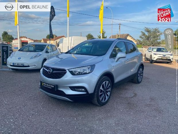 Photo miniature de la Opel Mokka X 1.6 D 136 Elite 4x2 Euro6d-T 1ere main Radar AV/AR Gps 2019 d'occasion