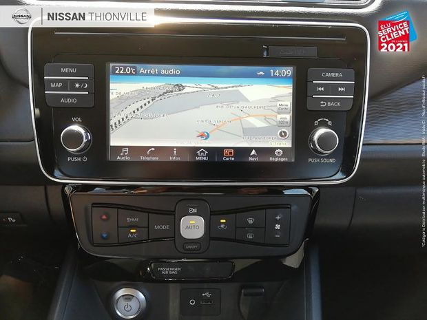 Photo miniature de la Nissan Leaf 150ch 40kWh Acenta 2018 2018 d'occasion