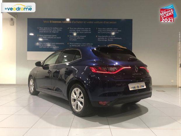 Photo miniature de la Renault Megane 1.5 Blue dCi 115ch Zen regulateur bluetooth 2019 d'occasion