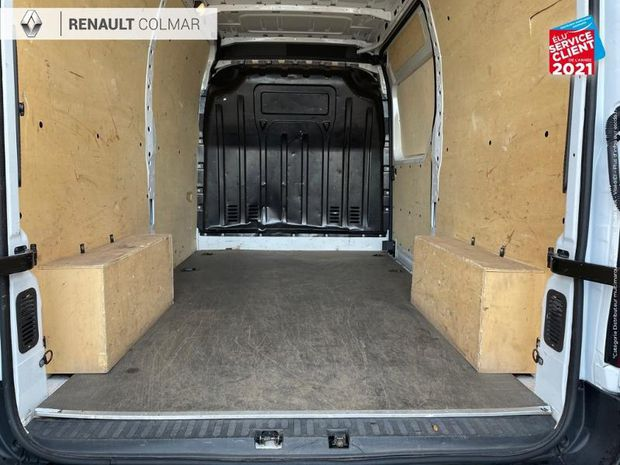 Photo miniature de la Renault Master Fg F3500 L2H2 2.3 dCi 130ch Grand Confort Plancher + Protec lat bois Radar AR TVA 2018 d'occasion