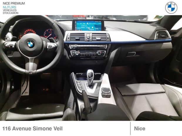 Photo miniature de la BMW Serie 4 Série 4 Coupé 420dA 190ch M Sport 2020 d'occasion