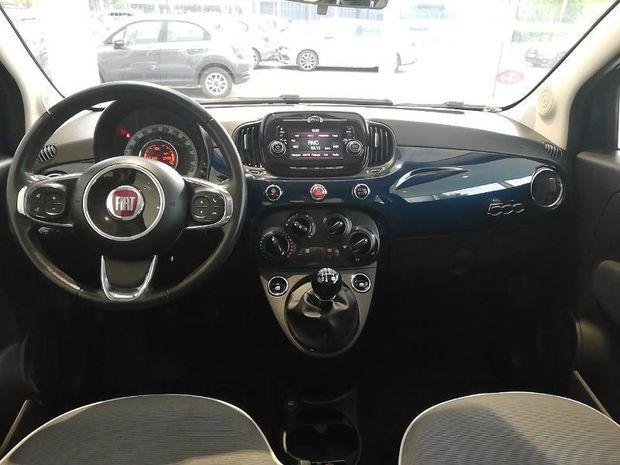 Photo miniature de la Fiat 500 1.2 8v 69ch Lounge Tpano Radar AR 2018 d'occasion