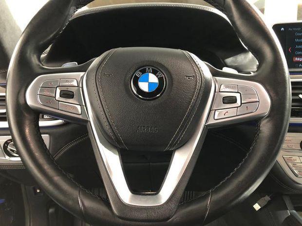 Photo miniature de la BMW Serie 7 740eA iPerformance 326ch Exclusive Euro6d-T 2018 d'occasion