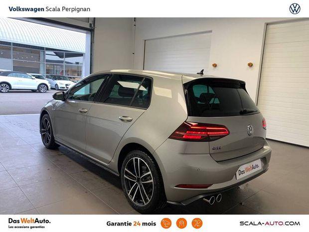 Photo miniature de la Volkswagen Golf Hybride Rechargeable 1.4 TSI 204 DSG6 GTE + Livraison Offerte 2021 d'occasion