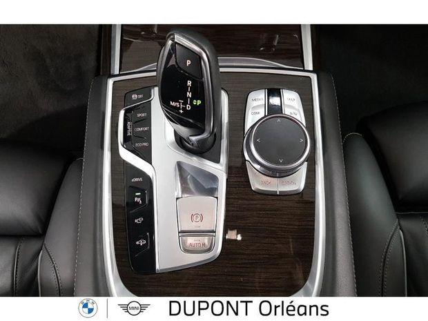 Photo miniature de la BMW Serie 7 740eA iPerformance 326ch Exclusive 2016 d'occasion