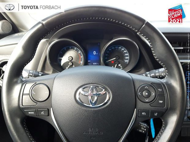 Photo miniature de la Toyota Auris Touring Sports 100 VVT-i Design 1ere main Camera 2018 d'occasion