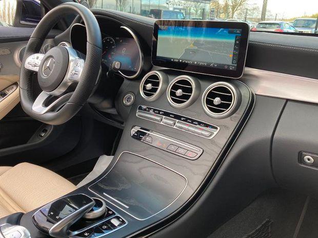 Photo miniature de la Mercedes Classe C Cabriolet 300 d 245ch AMG Line 9G-Tronic Euro6d-T 2019 d'occasion
