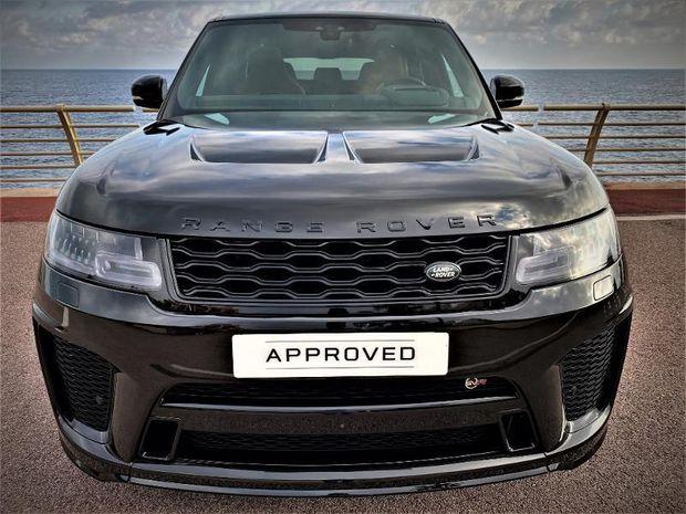 Photo miniature de la Land Rover Range Rover Sport 5.0 V8 S/C 575ch SVR Mark IX 2021 d'occasion