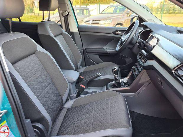 Photo miniature de la Volkswagen T-cross 1.0 TSI 115 Start/Stop BVM6 Carat 2020 d'occasion