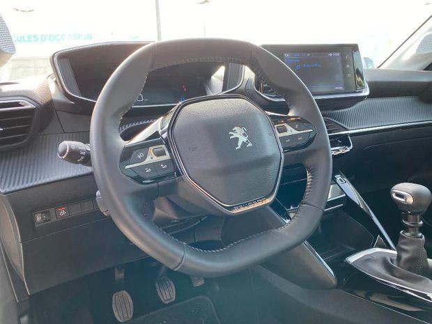 Photo miniature de la Peugeot 208 1.5 BlueHDi 100ch S&S Allure 2020 d'occasion