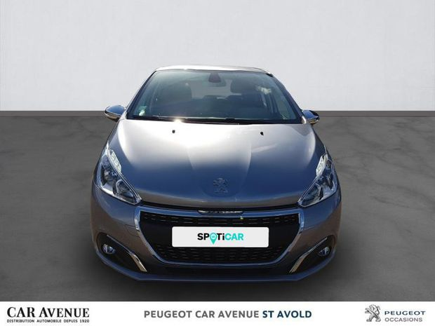 Photo miniature de la Peugeot 208 1.2 PureTech 82ch E6.c Signature 5p 2019 d'occasion