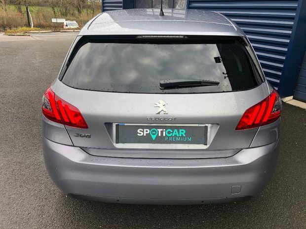 Photo miniature de la Peugeot 308 1.2 PureTech 110ch E6.3 S&S Style 2021 d'occasion