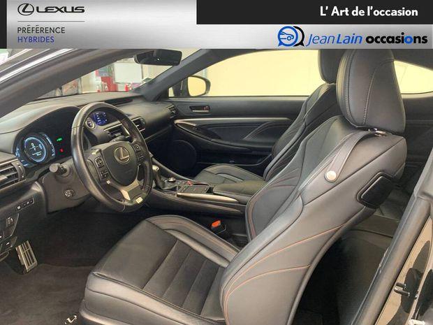 Photo miniature de la Lexus RC F RC 300h E-CVT F SPORT Black Edition 2018 d'occasion