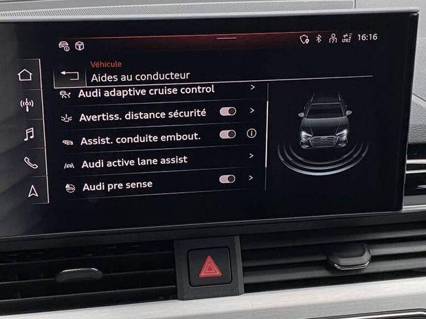 Photo miniature de la Audi A4 Avant 35 TFSI 150 S tronic 7 S line 2020 d'occasion