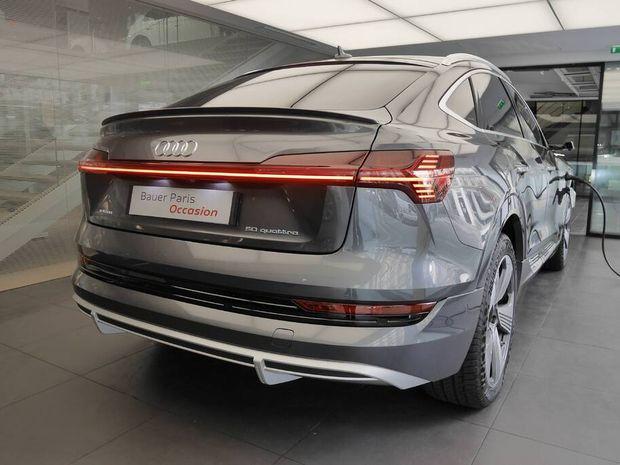 Photo miniature de la Audi E-tron Sportback 50 quattro 313 ch S line 2020 d'occasion